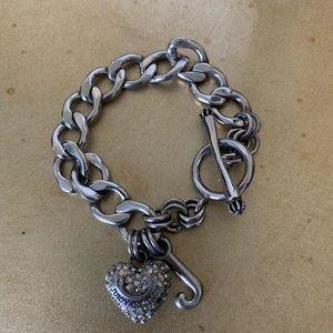 Sliver Juicy Couture Bracelet